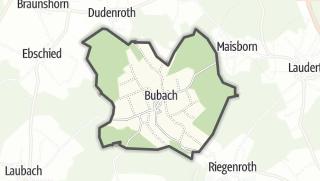 Karte / Bubach