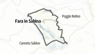 Mapa / Toffia