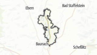 Carte / Rattelsdorf