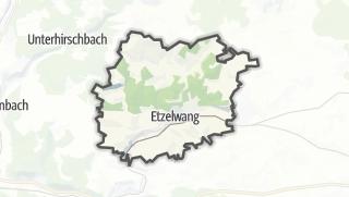 Cartina / Etzelwang