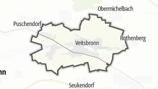 Mapa / Veitsbronn