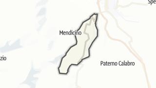 Mapa / Carolei