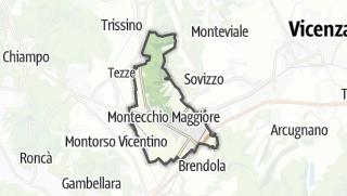 地图 / Montecchio Maggiore