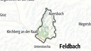 מפה / Edelsbach bei Feldbach