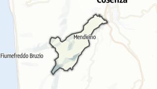 Térkép / Mendicino