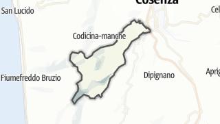 Mapa / Mendicino