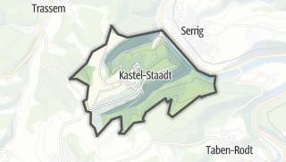 Mapa / Kastel-Staadt