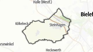 מפה / Steinhagen