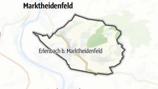 Carte / Erlenbach bei Marktheidenfeld
