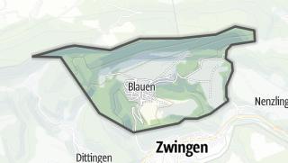 Mapa / Blauen