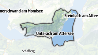 Mapa / Unterach am Attersee