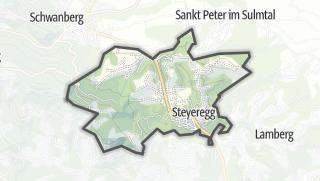 מפה / Limberg bei Wies