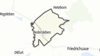 Mapa / Hedersleben