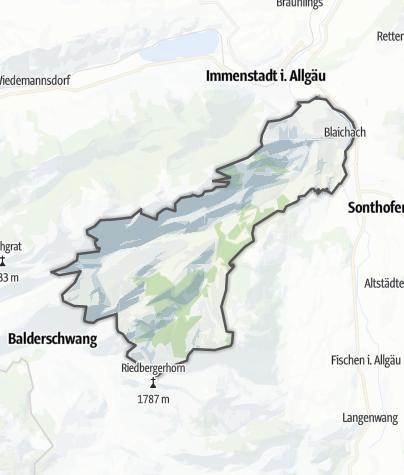 Karte / Blaichach