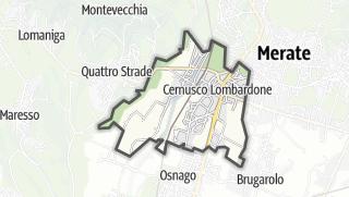 地图 / Cernusco Lombardone