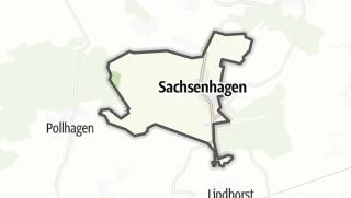 Mapa / Sachsenhagen