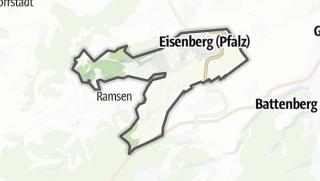 Karte / Eisenberg (Pfalz)