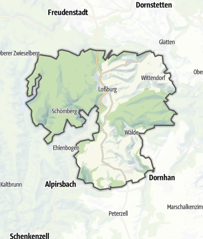 Karte / Loßburg