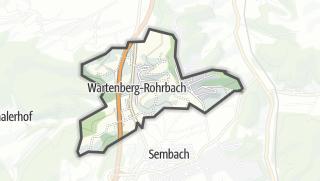 Karte / Wartenberg-Rohrbach