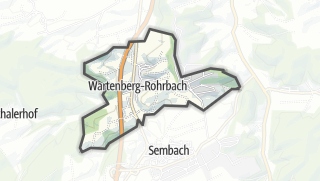 Cartina / Wartenberg-Rohrbach