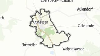 Karte / Altshausen
