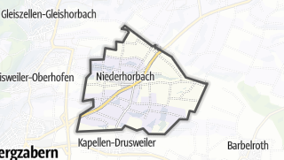 Cartina / Niederhorbach