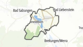 Mapa / Barchfeld-Immelborn