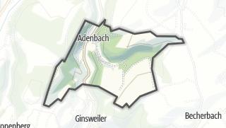 Karte / Adenbach