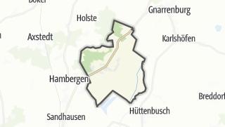 Karte / Vollersode