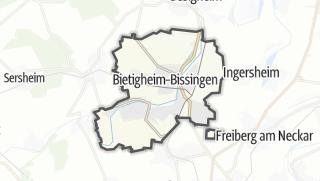 地图 / Bietigheim-Bissingen
