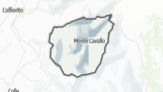 Hartă / Monte Cavallo