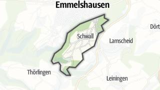 Karte / Schwall