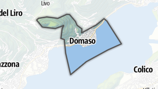 Hartă / Domaso