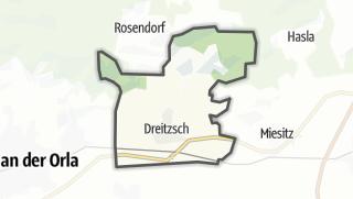 Mapa / Dreitzsch