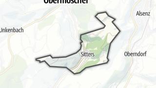 Karte / Sitters