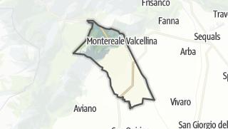מפה / Montereale Valcellina
