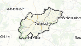 Cartina / Duderstadt