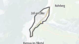 Mapa / Zell am Ziller