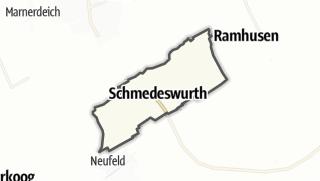Mapa / Schmedeswurth