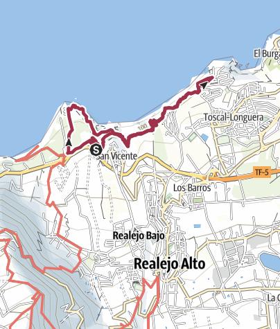 Karte / San Pedro
