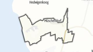 Mapa / Westerdeichstrich