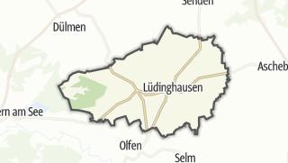 מפה / Lüdinghausen