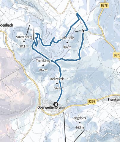 Mapa / Himmeldunk & Simmelsberg