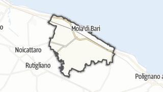 Térkép / Mola di Bari