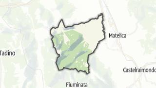 Hartă / Esanatoglia