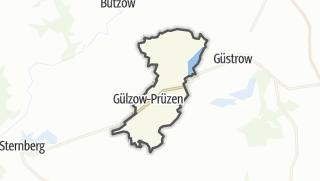 Carte / Guelzow-Pruezen