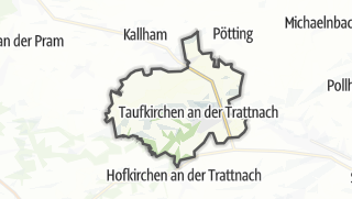 מפה / Taufkirchen an der Trattnach