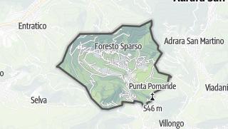 Hartă / Foresto Sparso