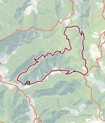 Karte / Schwarzwaldtour