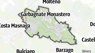 地图 / Garbagnate Monastero